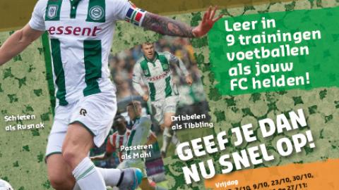 FC Groningen trainingsdagen