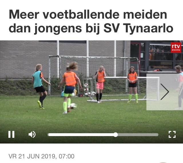 De Spil the place to be voor voetbalmeiden
