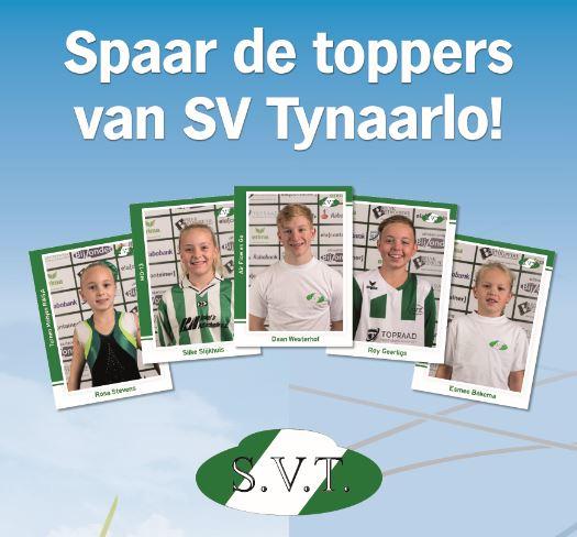 SVT spaarplaatjesactie i.s.m. Albert Heijn Zuidlaren