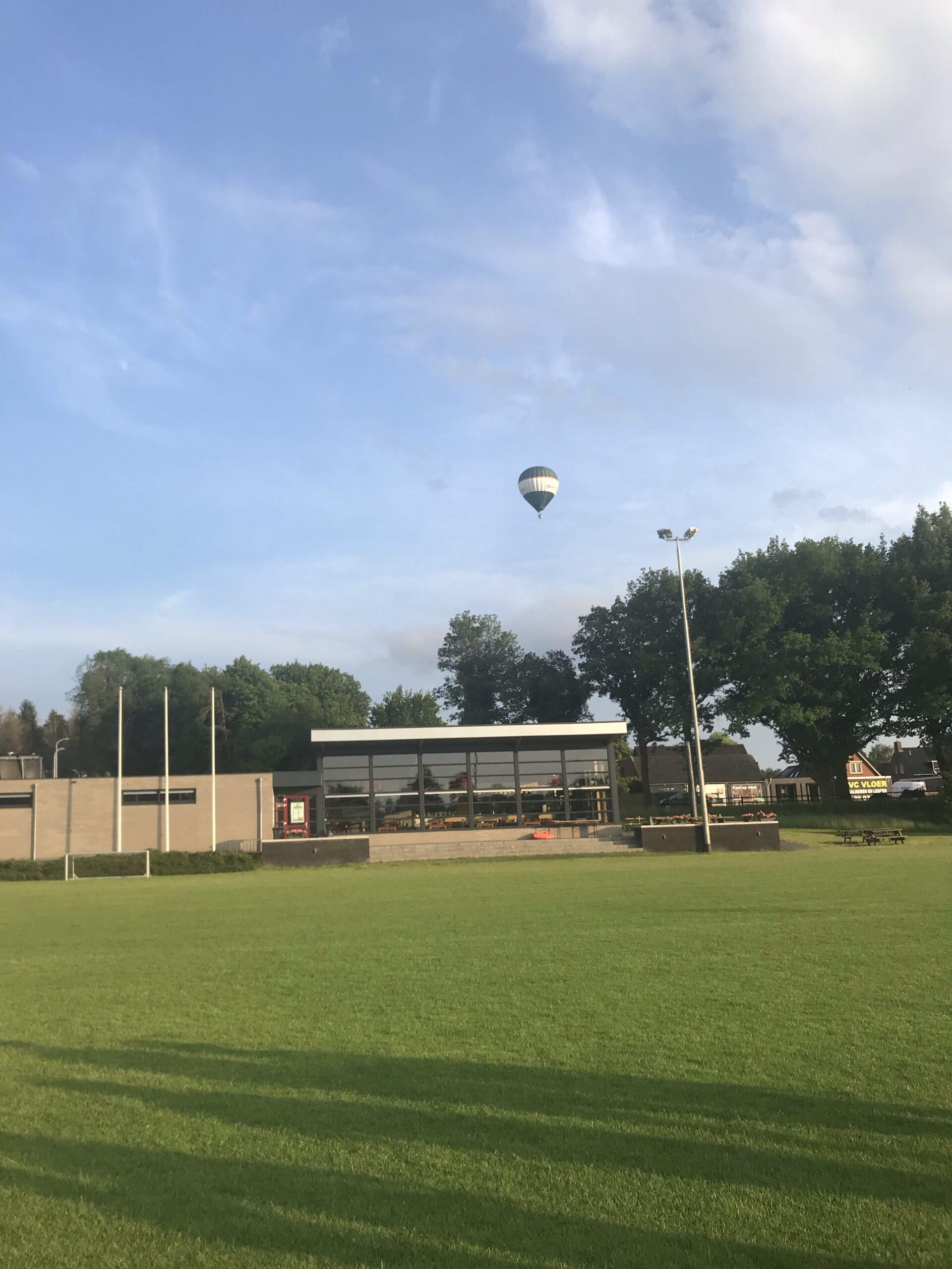 De Spil startpunt luchtballonvaart
